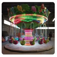 Quality Fun Fair Attractions Amusement Park Rides Dinosaur Swing Flying Chair wholesale