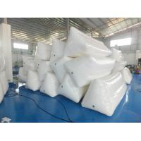 Quality White Color Inflatable Floating Billboard For Advertising With Durable PVC Tarpaulin wholesale