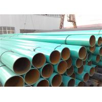 Quality 3PE layer polyethene FBE External Internal coating welded pipeline Ipn8710 3PE Larger Diameter Anti Corrosion Pipe wholesale