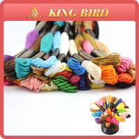 China Cotton mercerizing Machine Embroidery Threads for cross stitch on sale
