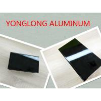 Cheap Electrophoretic Black Pearls Aluminum Window Frame Profile Normal Length 6m for sale