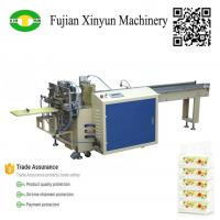 China Semi automatic multi bags facial tissue paper packing machine on sale