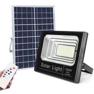 Buy cheap Outdoor Dusk To Dawn Solar Cell Heavy Duty 5000Lumen Powerful 400watt 20W 50W from wholesalers