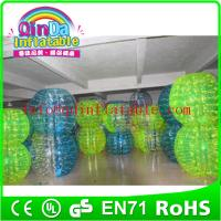 PVC/TPU roll inside inflatable ball/soccer bubble/bubble football for sale