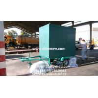 Quality Mobile Transformer Oil Filter Plant   Long Distance Moving Vacuum Transformer Oil Purifier wholesale