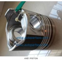Quality 5-87814919-0 4HE1 Piston Liner Kits (Set of 4 Cylinder) Piston Fit For Isuzu 4HE1 wholesale