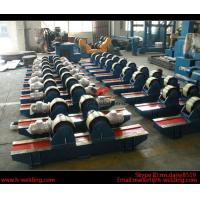Cheap Automatic Vessel Pipe Welding Rotator / Welding Roller Beds With Steel Roller for sale