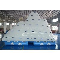 Quality Commercial Inflatable Water Iceberg / Inflatable Aqua Iceberg For Lake wholesale