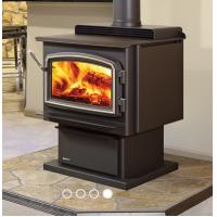 Quality Multi Function Indoor Wood Stove Remote Control Stainless Steel Material wholesale