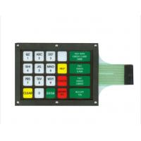 Multiple Tactile Metal Dome Membrane Switches Keyboard ISO14001 & ROHS