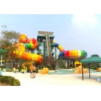 Quality Customized FRP Boomerang Indoor Water Park Slide wholesale
