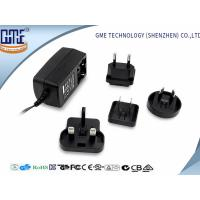 Quality 60950 60065 61558 Standard Black 9V 1A Universal AC DC Adapters wholesale