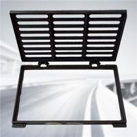 Quality Light Duty Cast Iron Gully Grate Shock Absorption EN1433 400mm X 600mm wholesale