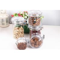 Buy cheap Plastic Food Storage Airtight Acrylic Canister product