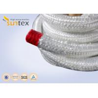 Quality High Temperature Fiberglass Heat Resistant Rope For Insulation Packing Industrial Stoves Door wholesale