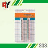 Quality Transparent Self Adhesive Solderless Bread Board ABS 25 Points wholesale
