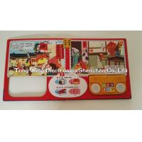 Quality ABS + CCNB 6 Button and  2 LED Module For Intellectual Baby Play A Sound Book wholesale