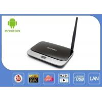 Buy cheap RK3188 ARM Cortex-A9 X6 IPTV Android Smart TV Box With 16GB Nand Flash product