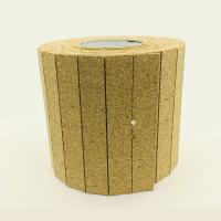 China 25*25*3+1MM Cork Pads with Static Foam Backing for Protecting Glass by Rolls for sale