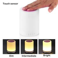 China 2017 S10 LED Bluetooth Speaker with FM radio and 7 Colors on sale