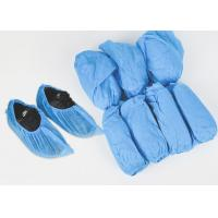 China Medical Hospital Blue Disposable Non-Woven Shoe Cover Medical Consumable Disposable Nonwoven Shoe Cover on sale