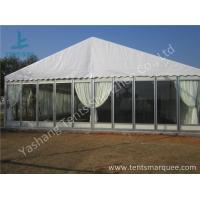 Quality Transparent Glass Wall Outdoor Luxury Wedding Tents With Full Beautiful Decorations wholesale