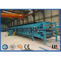Quality Polyurethane Sandwich Panel Manufacturing Line , Metal Sandwich Panel Equipment wholesale