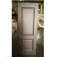 Quality Luxury Style Two Panel MDF Wood Doors Customized Handle For Apartment / Hotel wholesale