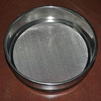 Quality Laboratory Wire Mesh Sieve , 10 30 50 60 80 Micron Stainless Steel Fine Mesh Sieve wholesale