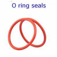 Quality ACM 70 Rubber O Ring Seals For Connector , Colored Orings Wear Resistant wholesale