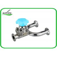 Quality 1.4435 / 316L Stainless Steel Diaphragm Valve Hygienic Grade , U Shaped wholesale