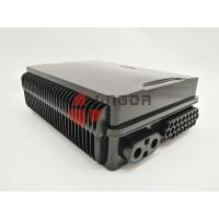 Quality Black Plastic  Outdoor Pole Mount Optical Fiber Termination Box24 Fibers With Bracket and Keys FAT-24B wholesale