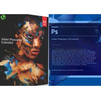 Quality Adobe Graphic Art Design Software Photoshop CS 6 / CC / CS 5 Extended Version wholesale