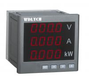 China Single Phase Current Digital Panel Meter, Multifunction Panel Meter80*80mm on sale