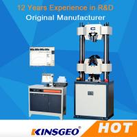 Quality Computer Rubber Universal Strength Testing Machine 1000KN With Servo Motor / PC Display wholesale