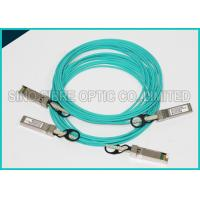 Buy cheap 3m SFP+ 10GB Fiber Optic Active Direct Attach Aqua Cable OM3 Multimode from wholesalers