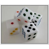 Quality Cheap dice with customized logo resin dice  wholesale