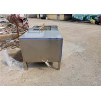 Quality Industrial Fruit Washing Machine 2500 * 1000 * 1150 Size  Fully Dissipated wholesale