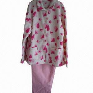 Quality Coral fleece pajama set, soft texture wholesale