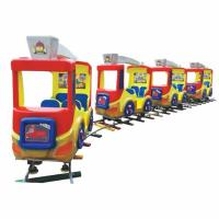 Quality high quality amusement track train children indoor track train playground for sale wholesale