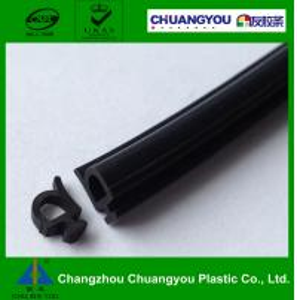 China Sliding Aluminum Door UPVC Rubber Seal Strip , Car Door Rubber Seal on sale