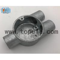 Quality Branch Three Y Way BS4568 Conduit Explosion Proof Conduit Fittings Malleable Iron Box wholesale
