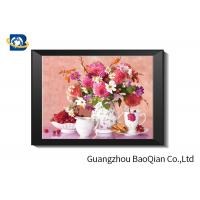 Quality Eco - friendly Flowers 3D Lenticular Pictures For Home Decoration A3 A4 Size wholesale