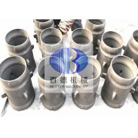 BD SiSiC Reaction Bonded Silicon Carbide Ceramic Burner Immersion Tube
