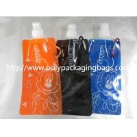 Quality PET / Nylon / LDPE Stand Up Pouch With Spout , Simple Children's Nozzle Water Bag wholesale