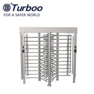 Quality RFID Reader Full Height Turnstile , SUS304 240V Security Turnstile Gate wholesale