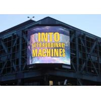 Quality Fixed Outdoor LED Billboard Advertising Led Display P6 Full Color Real Pixels wholesale