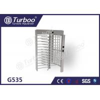 Quality Full Height Turnstile Gate Stainless Steel Turnstiles Access Control System wholesale