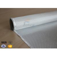 Quality Flame Retardant Fiberglass Fabric Silver Plated Fabric Double Sides 230g wholesale