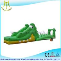 Quality Hansel 2017 hot selling PVC outdoor inflatable play area blow up raft wholesale